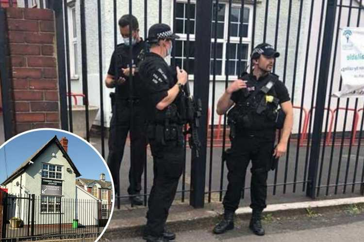 Armed police swarm primary school after 'man seen with gun in playground'