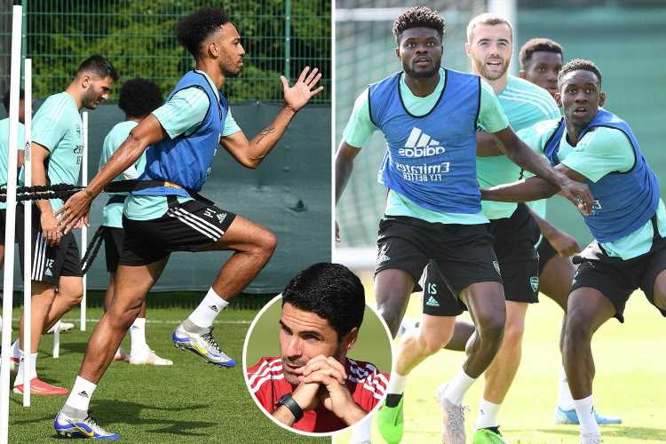 Arsenal pre-season in chaos as Gunners forced to CANCEL USA tour just days before flying after Covid-19 outbreak at club