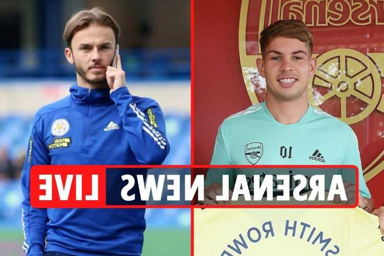 Arsenal transfer news LIVE: Smith Rowe NEW deal and iconic shirt No CONFIRMED, £30m Ramsdale bid, Maddison SWAP deal