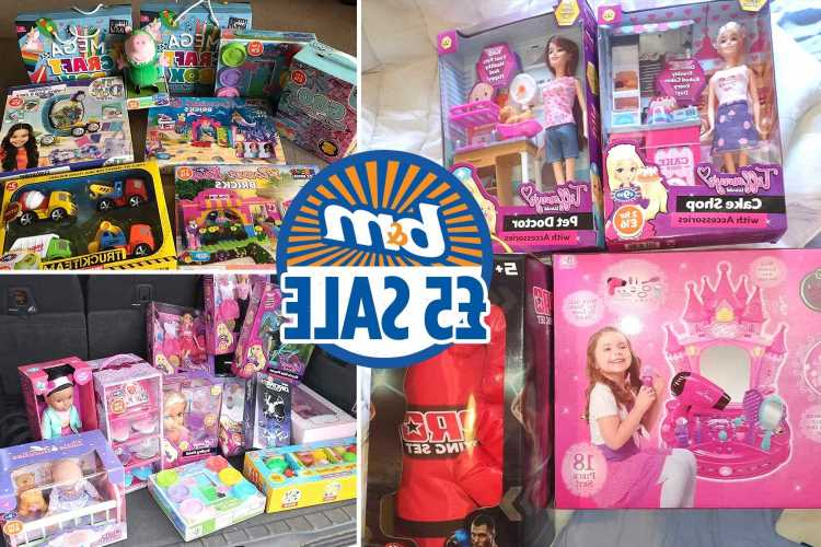 B&M shoppers reveal sale hauls as it slashes price of toys in two for £16 deal down to £5 each
