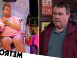 Benidorm star kept Kenneth's hotpants to sell if he gets sacked from Corrie