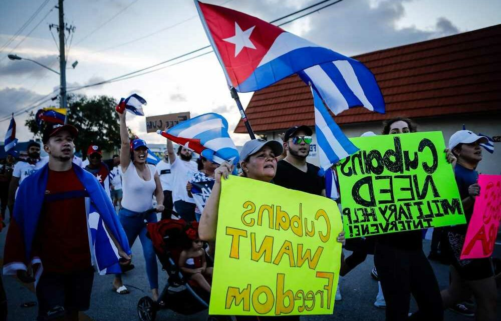 Biden needs to move fast to provide satellite internet for silenced Cuban protesters