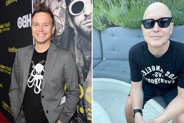 Blink-182's Mark Hoppus smiles and wishes fans a happy July 4 holiday in first photo since revealing cancer battle