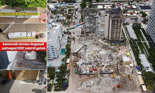 Bombshell engineering report found concrete damage was extensive