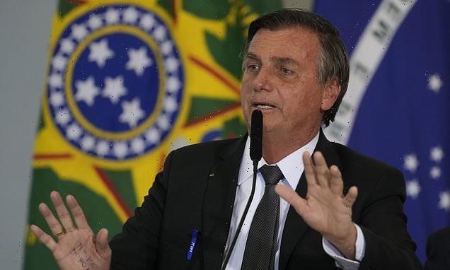 Brazil's President Bolsonaro is hospitalised with chronic HICCUPS