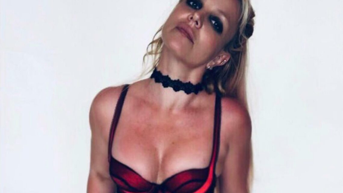 Britney Spears' red lingerie heats up Instagram days after nude snap