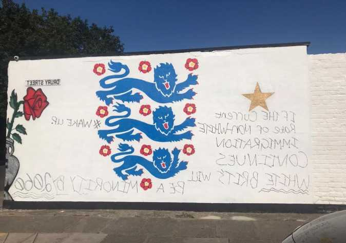 Building dedicated to first ever black professional footballer is covered in vile racist graffiti