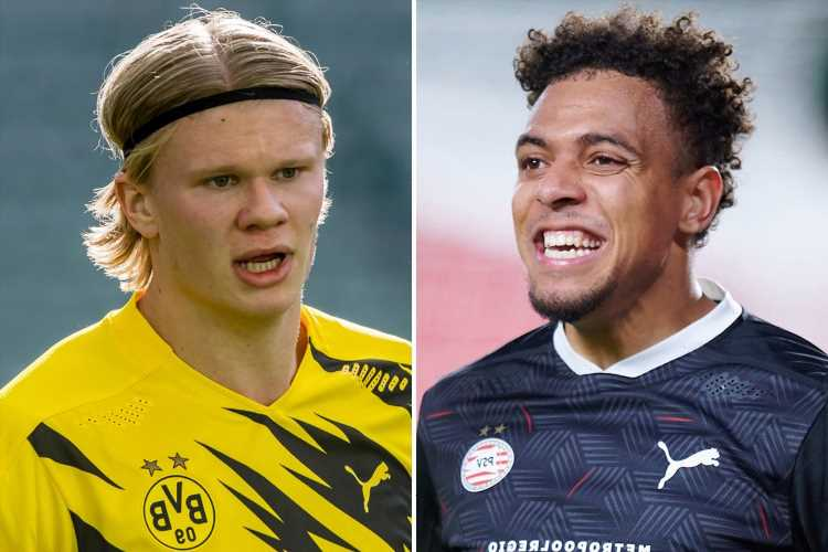 Chelsea and Man City given Erling Haaland transfer boost as Dortmund agree personal terms with Holland ace Donyell Malen