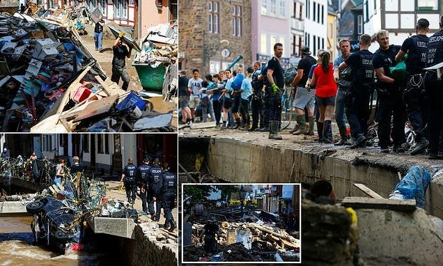 Clean-up begins after German floods as damages to run into BILLIONS