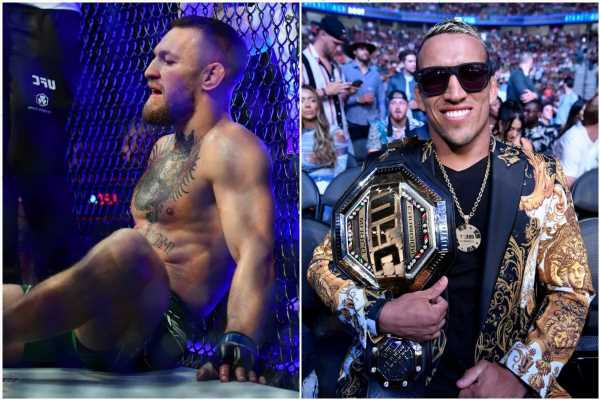 Conor McGregor 'deserves a standing ovation' for helping to revolutionise UFC, insists Charles Oliveira