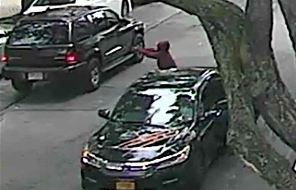 Cops release surveillance photos of suspect in fatal shooting of Bronx teen