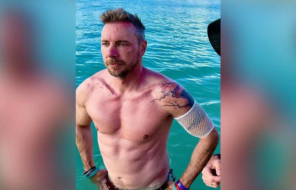 Dax Shepard gained 24 pounds in quarantine to look Marvel-ready