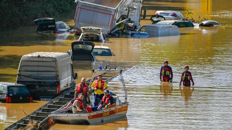 Death toll rises dramatically in Germany and Belgium floods