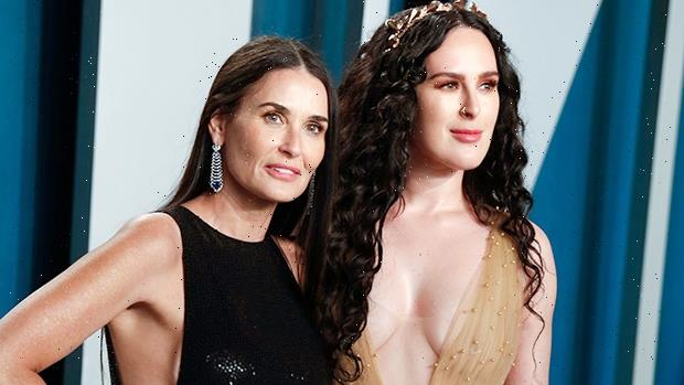 Demi Moore, 58, & Daughter Rumer Willis, 32, Look Like Twins In Swimsuits On Greece Vacation