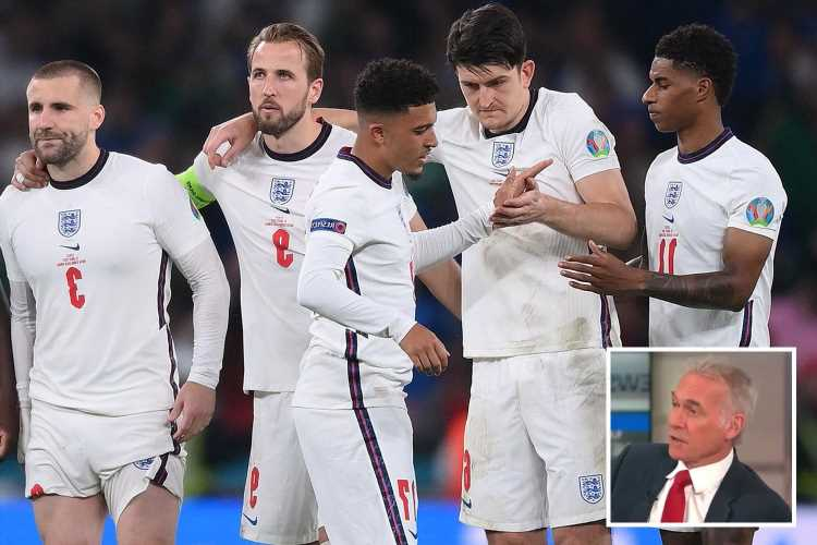 Dr Hilary warns racist abuse of England players on social media 'is grave danger to mental health'