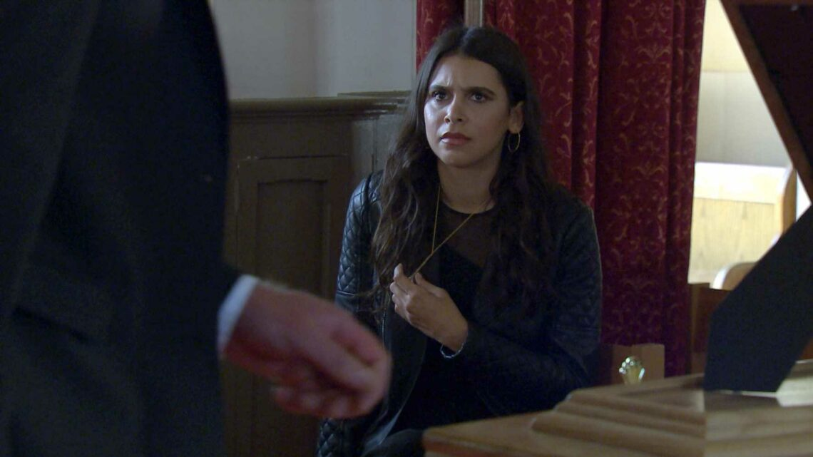 Emmerdale spoilers: Killer Meena Jutla exposed as she drops Leanna Cavanagh's ring next to her dad Liam