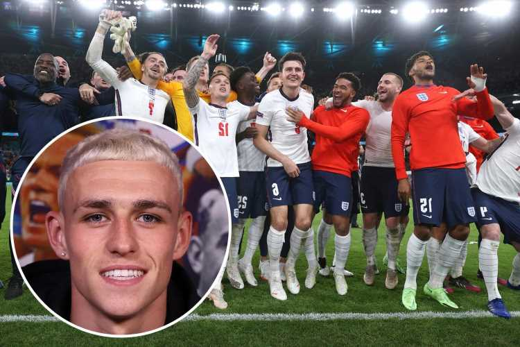 England stars reveal celebration plans if they win Euro 2020, with trip to Vegas, a first beer and dying hair blonde