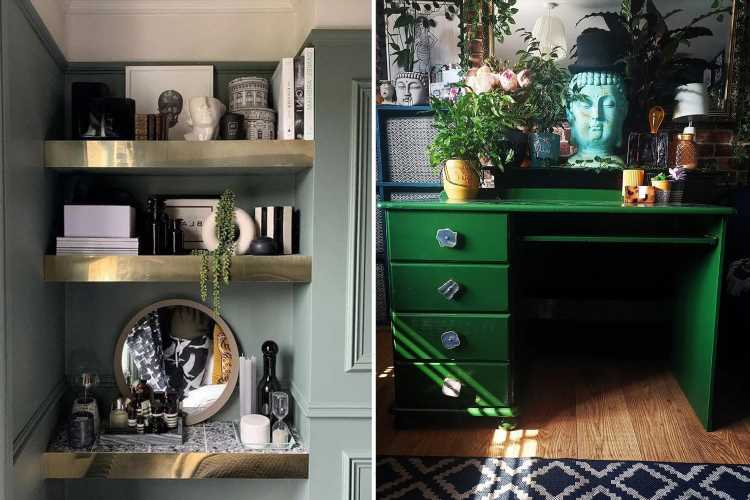 Experts share how to make cheap furniture look expensive, and their budget tips all cost less than a tenner