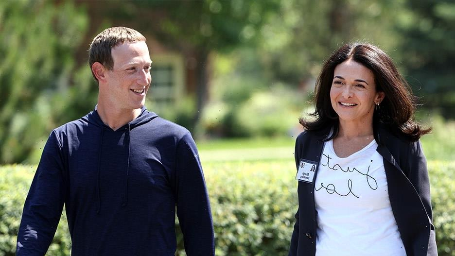 Facebook's Mark Zuckerberg and Sheryl Sandberg Make Nice in Sun Valley Just After NY Times Takedown