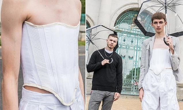 Fashion student creates new corset for men