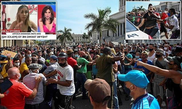 First Cuban demonstrator killed after police 'open fire on protest'