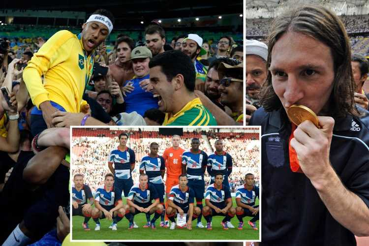 Five most memorable Olympic football moments from Lionel Messi's Beijing gold to Neymar's winning penalty at Rio 2016