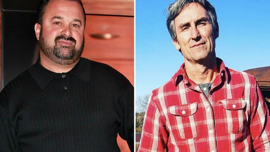Frank Fritz NOT returning to American Pickers after suddenly disappearing from show as he feuds with costar Mike Wolfe