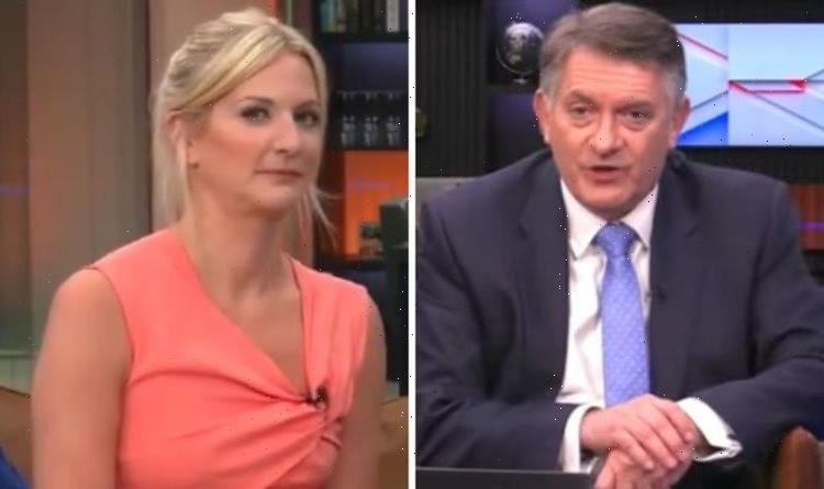 GB News: Simon McCoy's co-host takes dig at presenter as he's replaced by co-star