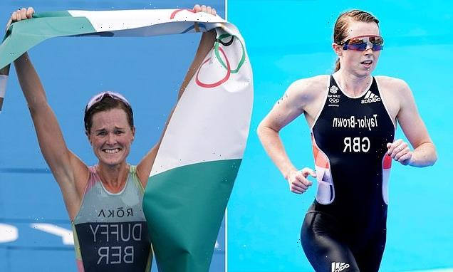 GB's Taylor-Brown wins silver medal in triathlon after tyre PUNCTURE