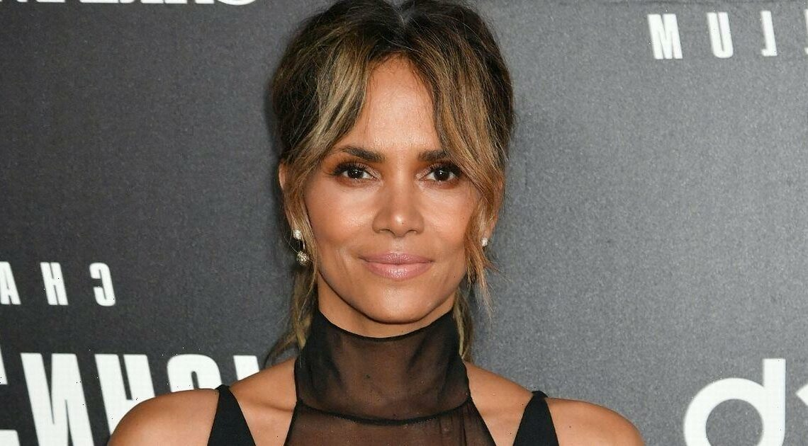 Halle Berry poses topless in stunning snap to promote self-care