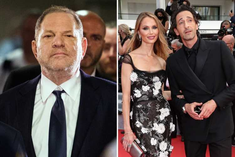 Harvey Weinstein's ex Georgina Chapman finalizes divorce as she goes red carpet official with Adrien Brody