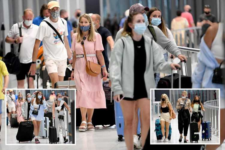 Holidaymaker Brits land back from Ibiza & Majorca just in time for 4am amber list change – but many more face mad dash