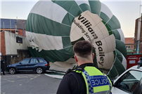 Hot air balloon crashes into town centre pub in Nottinghamshire