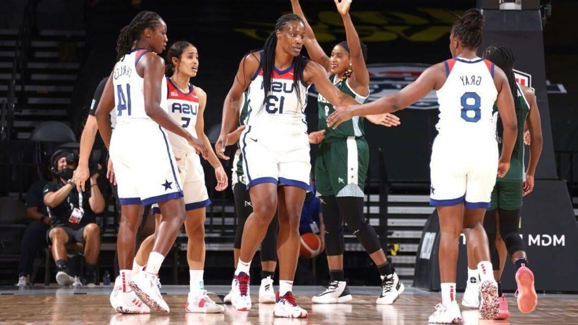 It feels good: U.S. women get 1st exhibition win