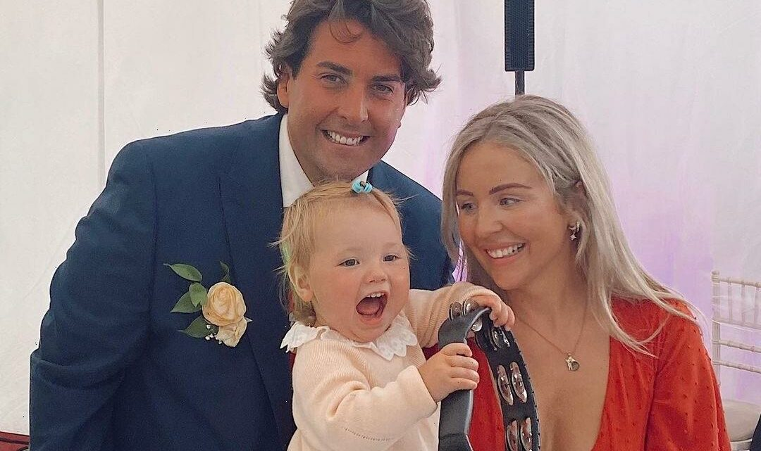 James Argent and Lydia Bright reunite at family wedding as she says they've 'remained so close over the years'
