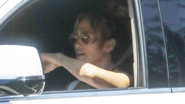 Jennifer Lopez Is Pictured Leaving Ben Affleck's House After A Sexy Sleepover: See Photo