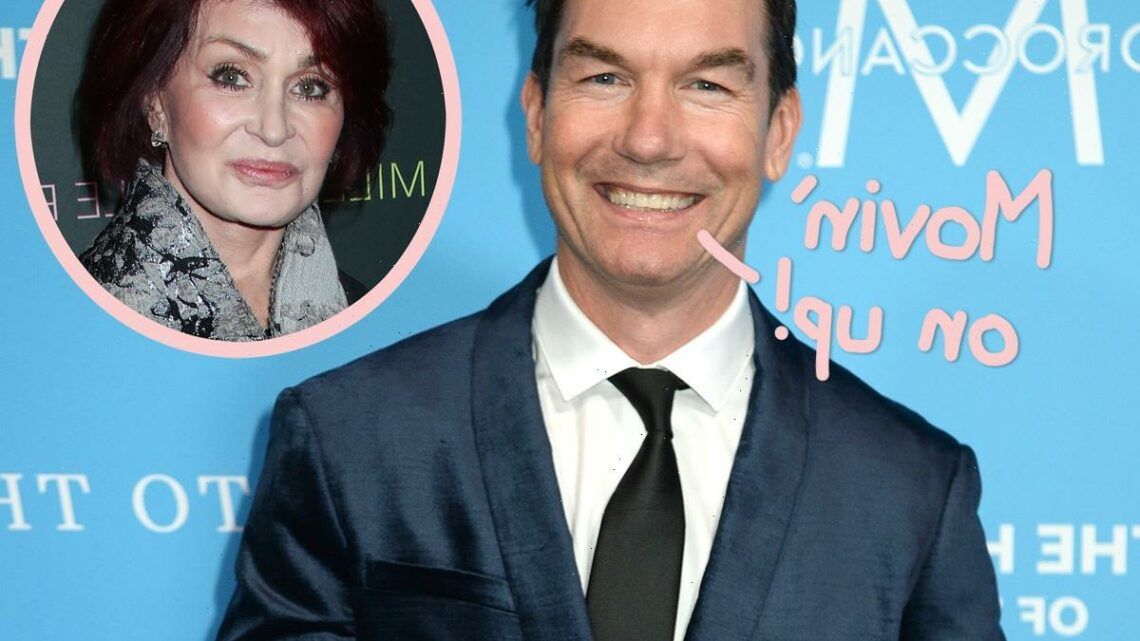 Jerry O'Connell Replacing Sharon Osbourne As First MALE Co-Host Of The Talk!