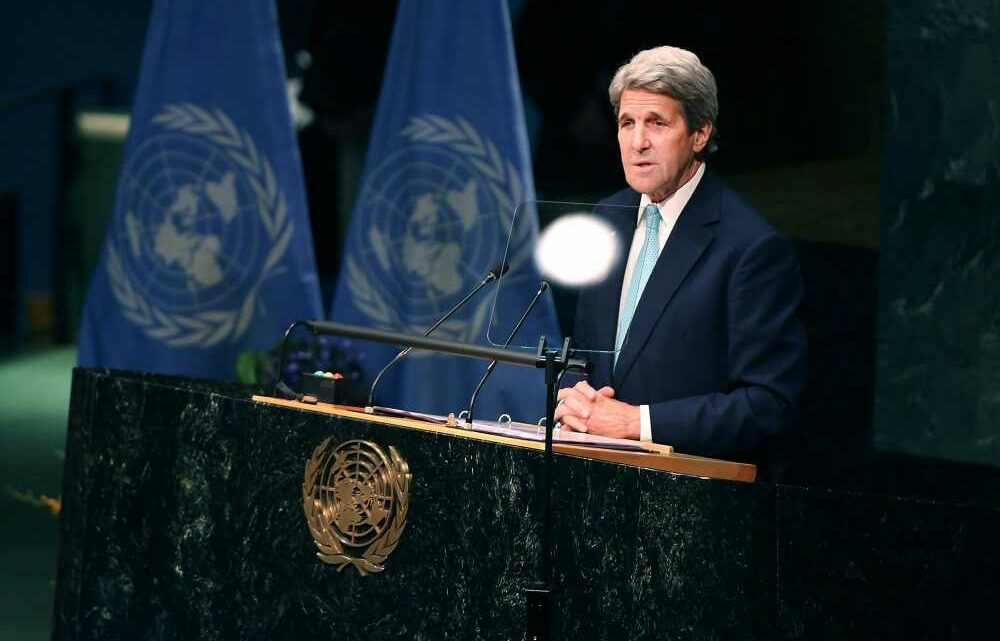 John Kerry says green economy will be bigger than the Industrial Revolution