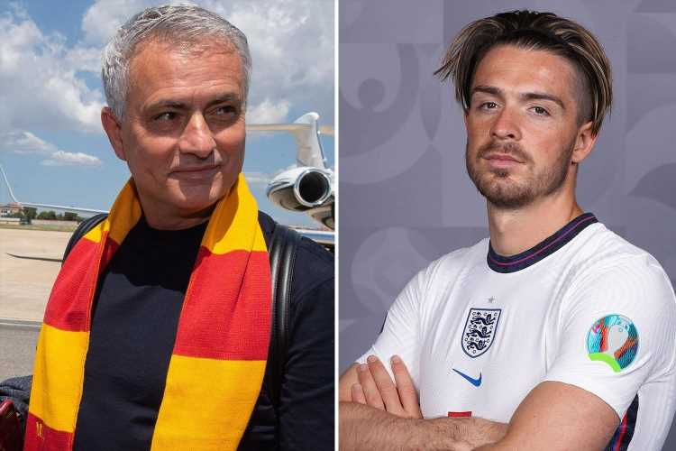 Jose Mourinho wants 'brave' Jack Grealish to start for England vs Denmark but predicts Bukayo Saka will get nod