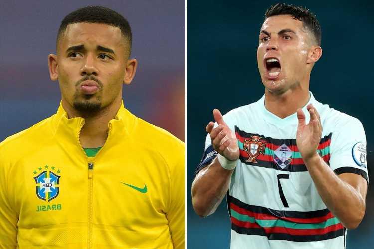 Juventus make Gabriel Jesus their top transfer priority even if Cristiano Ronaldo stays in Turin