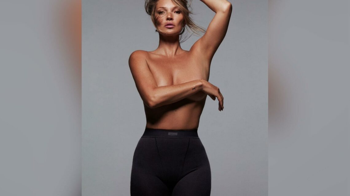 Kate Moss is the new face of Kim Kardashian's Skims