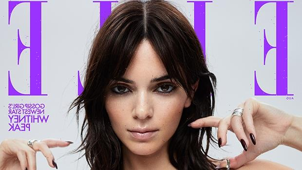 Kendall Jenner Slays In Plunging Silver Dress, Sexy Bodysuit & More For New 'ELLE' Shoot — Photos