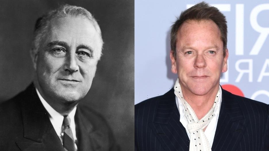 Kiefer Sutherland to Play Franklin Roosevelt in Showtime's 'The First Lady'