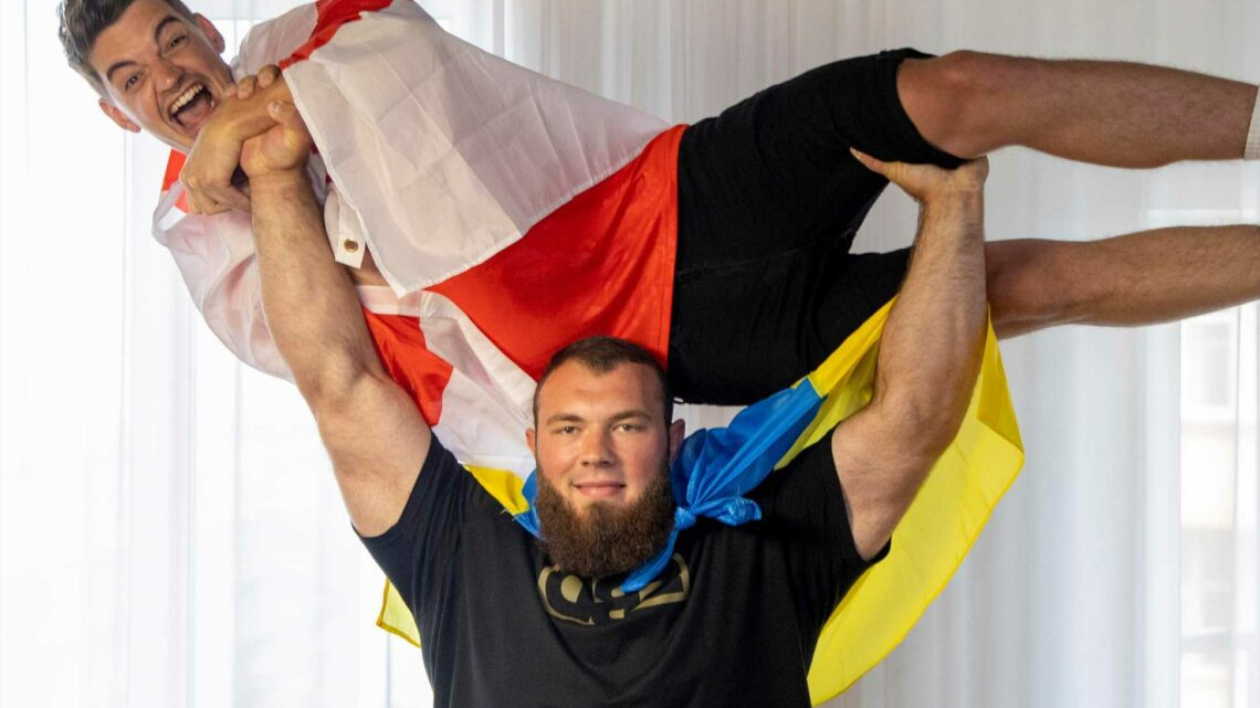Kiev strongman calls for Ukraine v England thriller at Euro 2020  – before re-gaining title from Brit champ