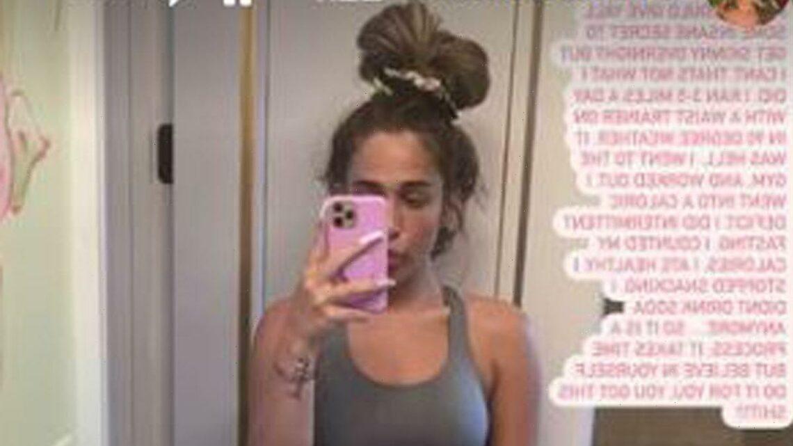 Kim Zolciak's Daughter Ariana Biermann Slams Eating Disorder Rumors As She Shows Off 50-Lb Weight Loss