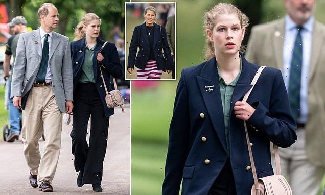 Lady Louise Windsor shows off £750 Chloe handbag