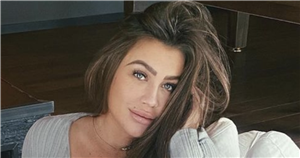 Lauren Goodger 'can't stop looking' at baby girl during 'surreal' first night as mum