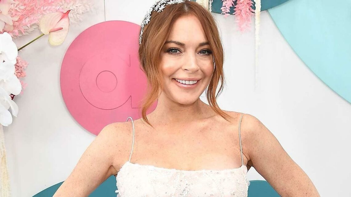 Lindsay Lohan Shares Throwback Video of Herself as an 8-Year-Old Model