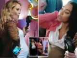 Little Mix's Perrie and Leigh-Anne show off huge baby bumps in new Anne-Marie video Kiss My (Uh Oh)
