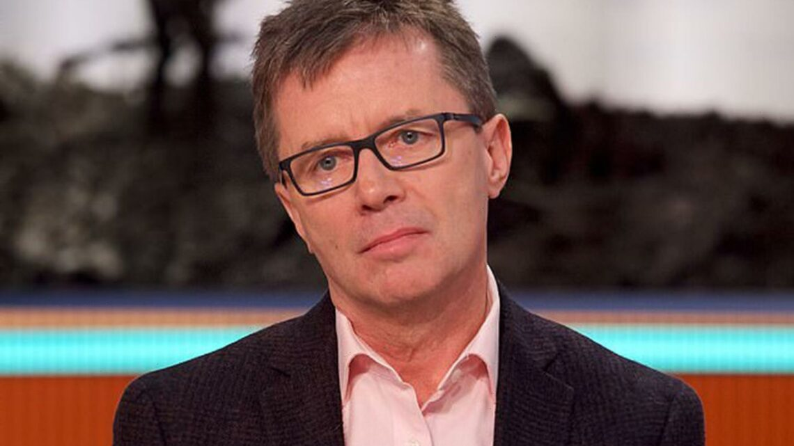 Long Lost Family's Nicky Campbell couldn't get out of bed for two days after Charlie Brooker called him 'the Antichrist'